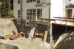 underpinning of the existing dweilling house